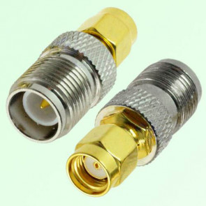 RP-SMA Male to RP-TNC Female RF Coaxial Adapter