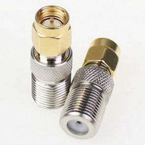 SMA-male to F-Female RF Coaxial Connector