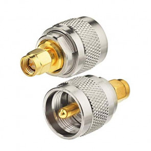 SMA-Male to UHF-Male RF Coaxial Connector
