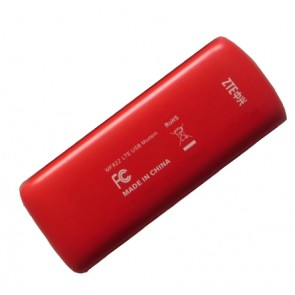 ZTE MF822 4G LTE 100Mbps USB Surfstick is the new generation 4G LTE datacard to support 4G LTE network with maximum download speed up to 100Mbps and upload speed to 50Mbps. It's upgraded from ZTE MF820, MF821 and MF821D with better connection performance