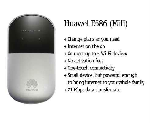 huawei e586 mobile wifi hotspot