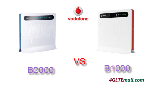 VODAFONE B2000 VS B1000 4G ROUTER