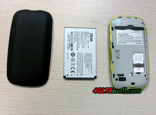 ZTE MF61 Portable 3G Hotspot WiFi Router