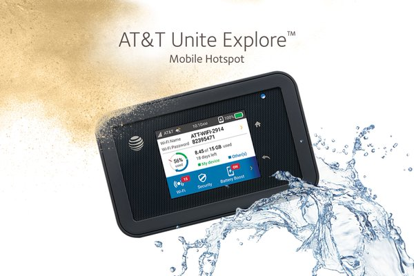 at t unite explore unlocked netgear aircard ac815s 4g lte mobile hotspot for sale. Black Bedroom Furniture Sets. Home Design Ideas