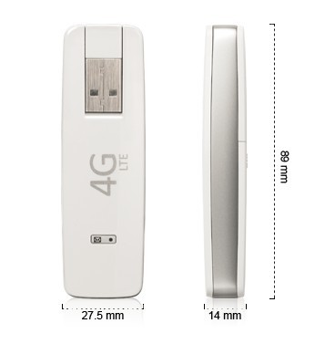 Alcatel One Touch L800 Mobile Broadband size