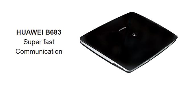 HUAWEI B683 3G WIFI ROUTER