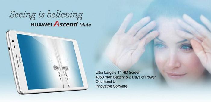 Huawei Ascend Mate 6.1inch HD 3G Smartphone
