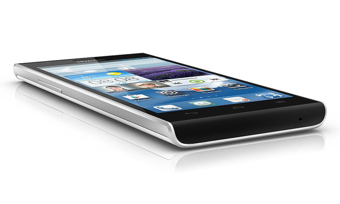 HUAWEI Ascend P2 - Ultra Slim: only 8.4mm thickness