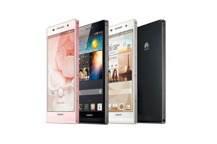 HUAWEI Ascend P6 Different colors