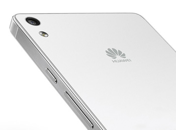 Huawei Ascend P6 Rear camera