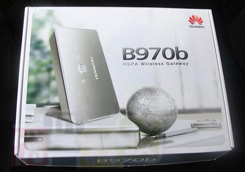 HUAWEI B970b 3G Wireless Router
