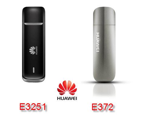HUAWEI E3251 COMPARE WITH HUAWEI E372