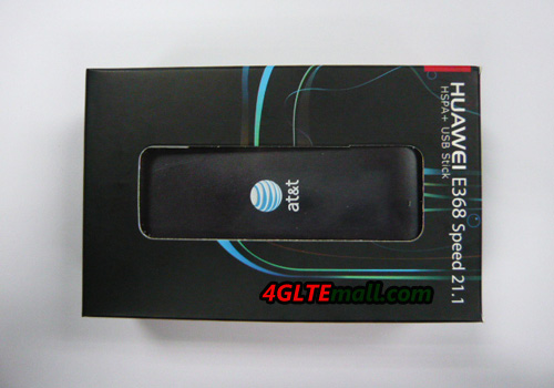 Package box of HUAWEI E368 HSPA+ 21Mbps USB MODEM