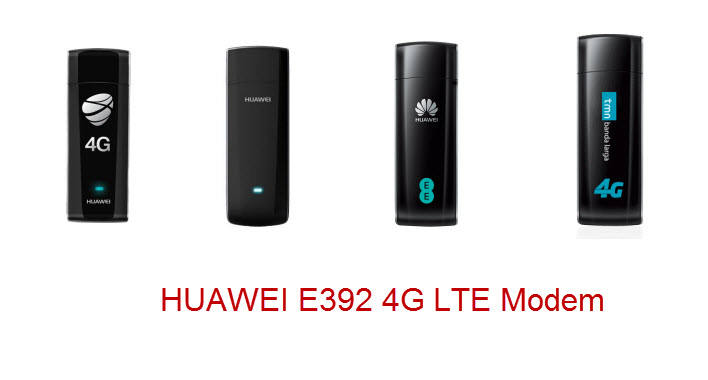 Different HUAWEI E392 Model nuber for different providers