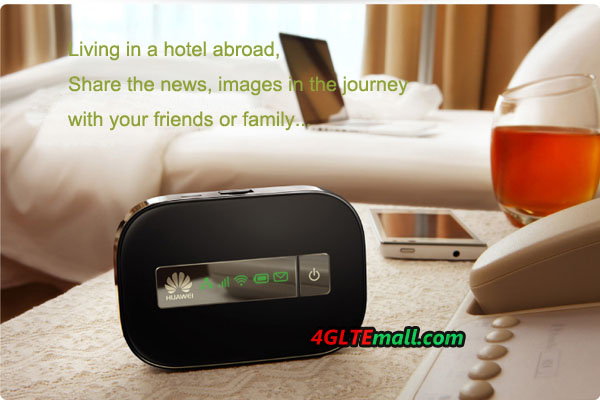 HUAWEI E5151 Applications at hotel when abroad