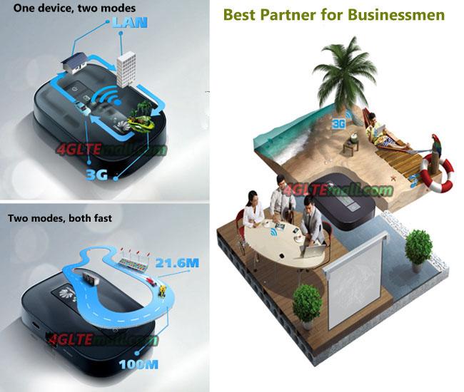 HUAWEI E5151 is the best partner for businessmen