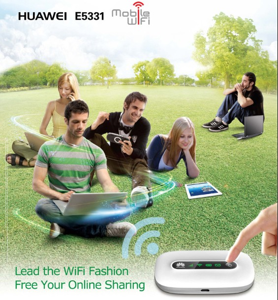 HUAWEI E5331 LEAD THE WIFI Fashion