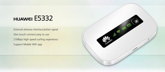HUAWEI E5332 3G POCKET WIFI