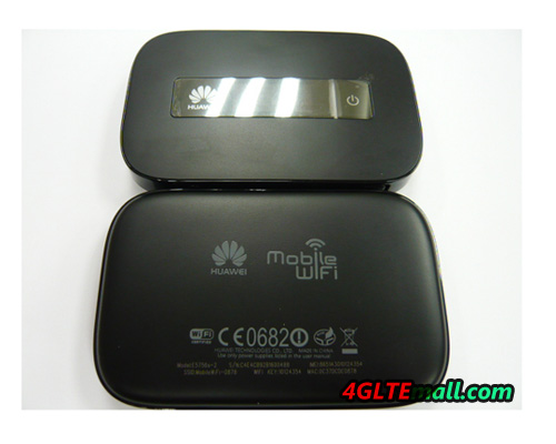 HUAWEI E5756 HSPA+ 42Mbps Mobile Hotspot and Power Bank back and front