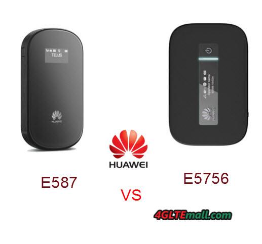 huawei E5756 VS E587