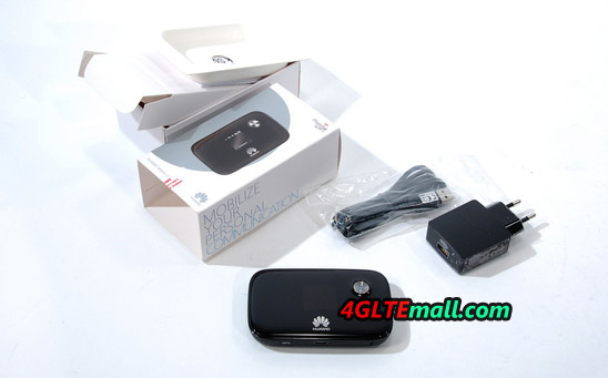 huawei E5776 4G LTE CAT4 Mobile Hotspot package box