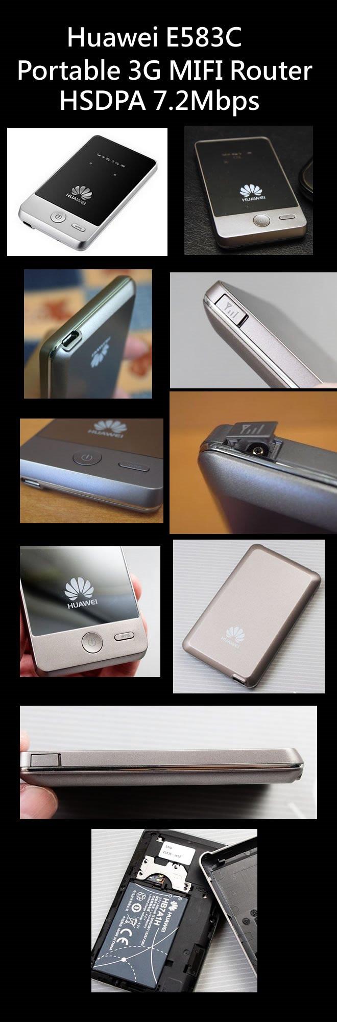 HUAWEI E583C 3G Mobile WiFi Hotspot