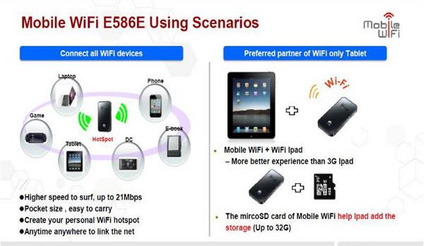 How to setup a profile for Huawei Mobile WiFi E5330
