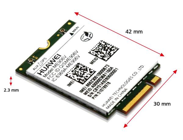HUAWEI ME906V 4G LTE Module