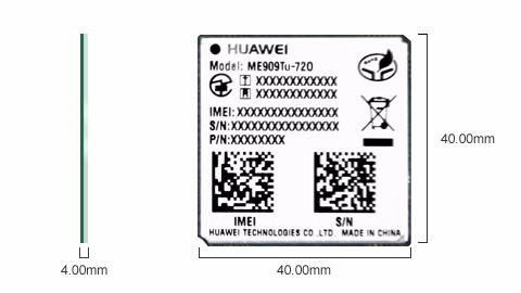 huawei ME909Tu-720 4G LTE Module