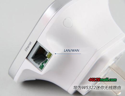 HUAWEI WS322 LAN WAN Ethernet port