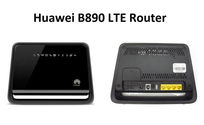HUAWEI B890 4G LTE WiFi Router