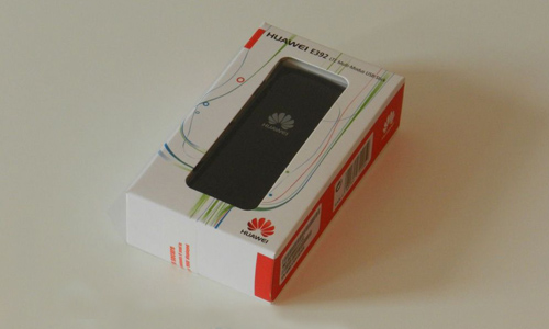 package box of HUAWEI E392