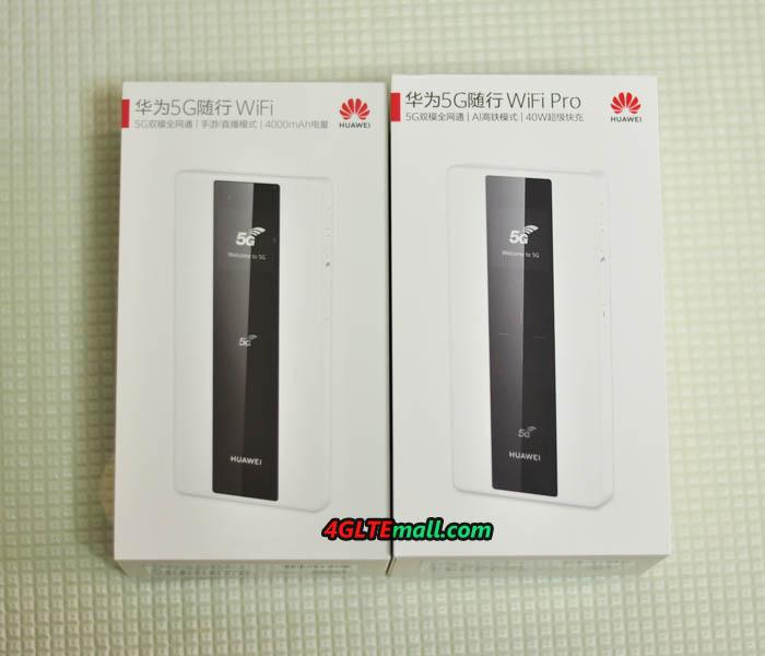 Huawei 5G Mobile WiFi E6878-870 VS E6878-370