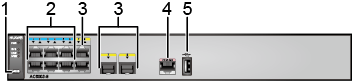 Huawei AC6003-8-8AP ports