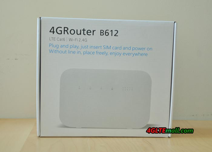 Huawei B612s-25d router
