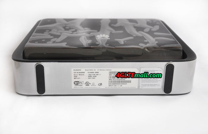 Huawei B890 Label