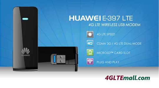 Huawei E397 4G LTE Mobile Internet Key