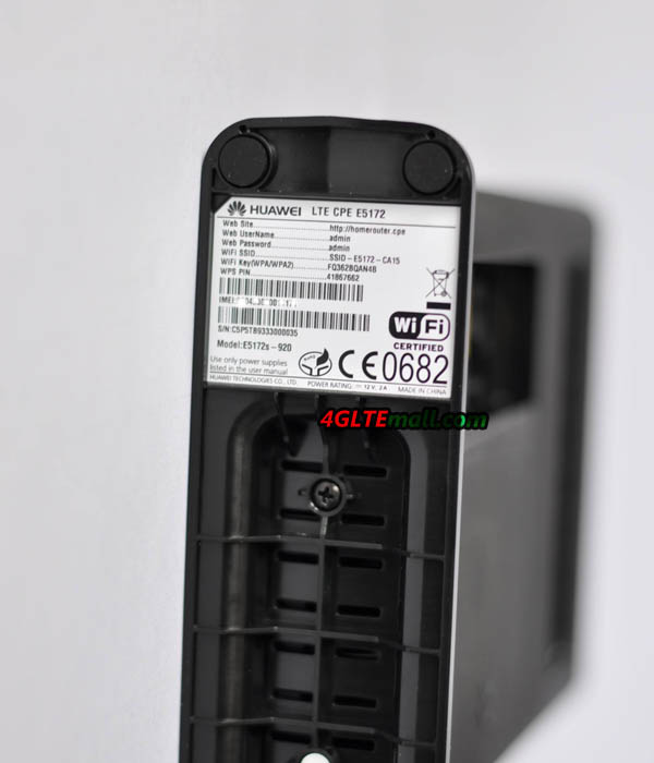 Huawei E5172 Battery slot