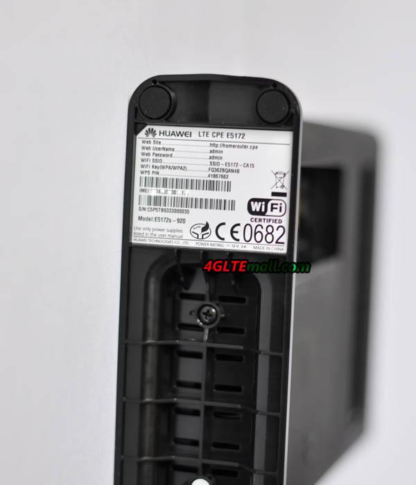 Huawei E5172 Battery slot