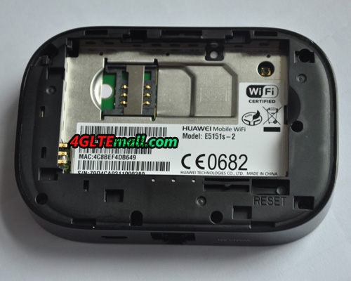 inner part of HUAWEI E5151 LAN WLAN mobile WiFi hotspot
