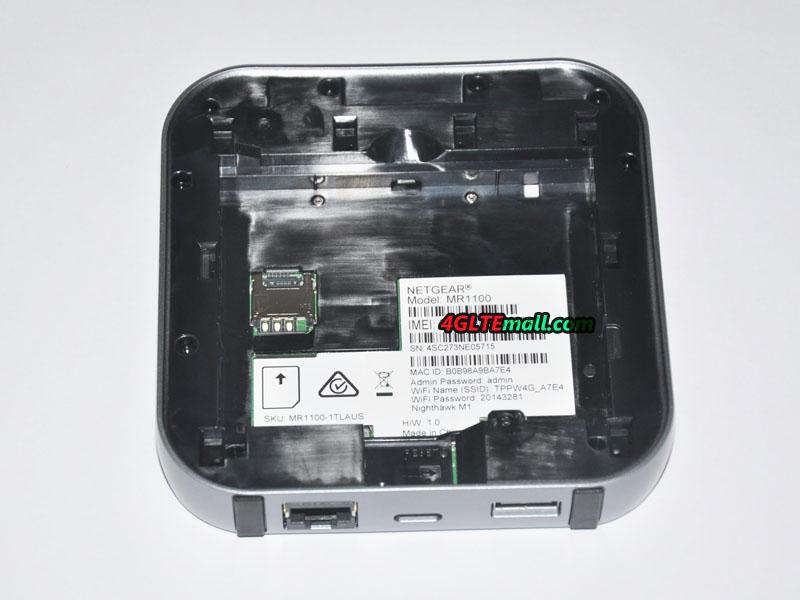 Netgear Nighthawk M1 SIM card slot