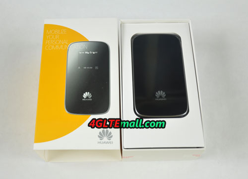 Unbox of HUAWEI E589