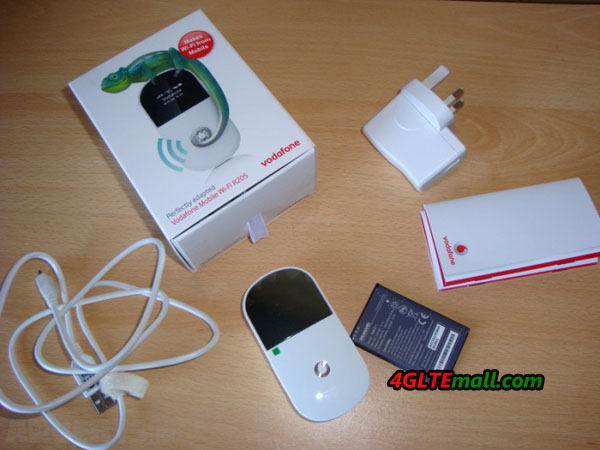 Vodafone R205 3G HSPA+ Mobile WiFi Hotspot  package