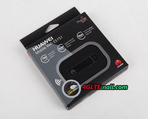 package of HUAWEI E5151 LAN WLAN Mobile WiFi Hotspot