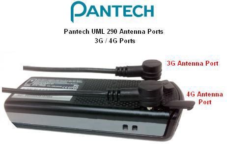 pantech UML290 4G USB Modem external antenna connector