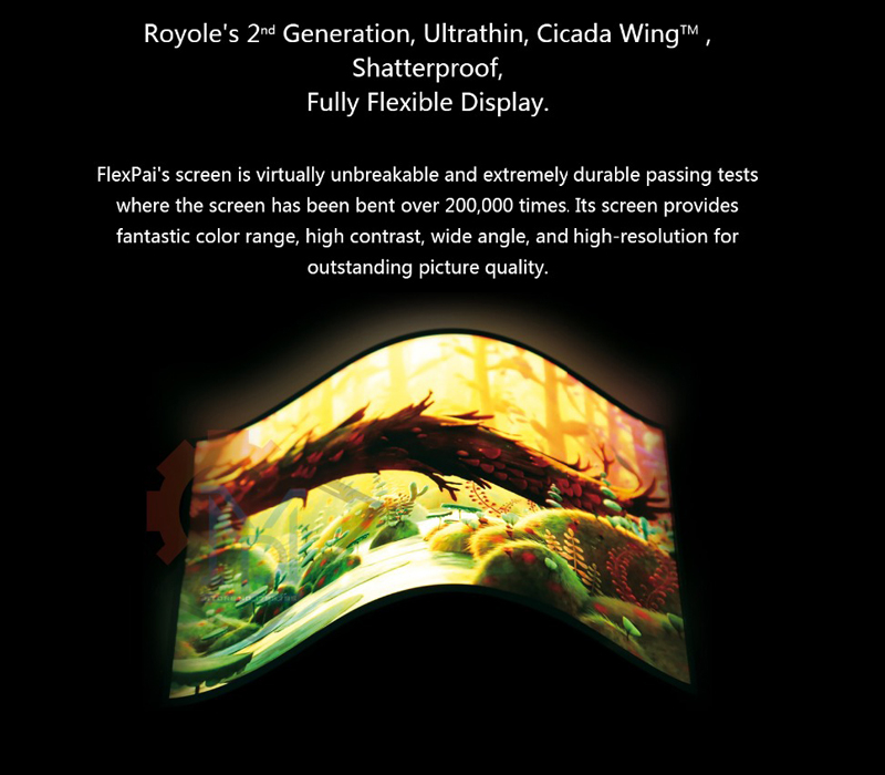 Royole FlexPai Foldable Cell Phone