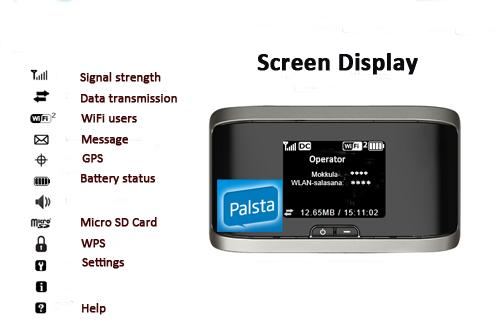 Sierra 762s 4G Wireless AirCard Display