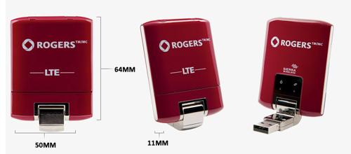 SIERRA 330U 4G LTE Wireless Aircard Demensions