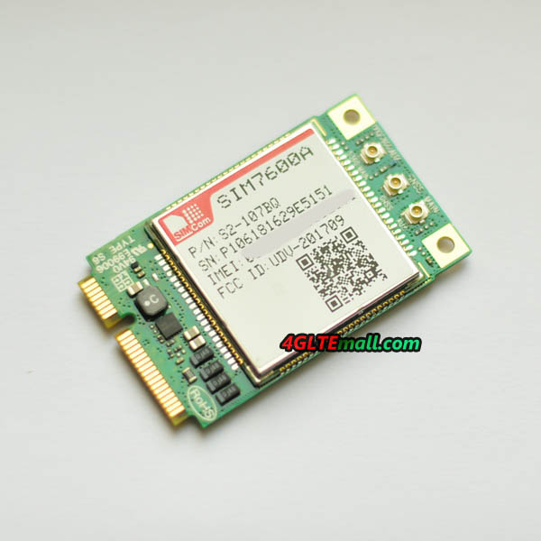 SIMCOM SIM7600A Mini PCIe module