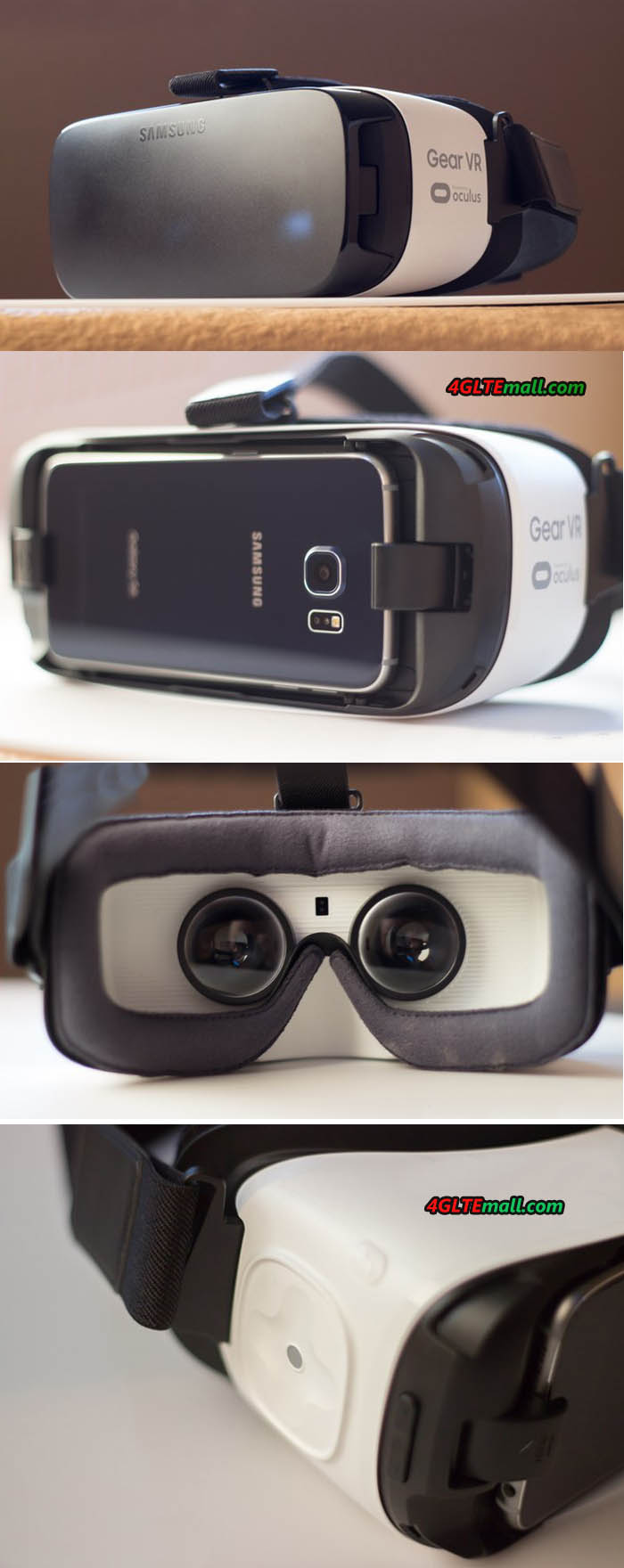 Samsung Gear VR 3D Box Details